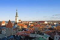View of of Tallinn, Estonia.