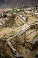 Archaeological site Ollantaytambo