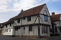 Lavenham Suffolk one of the most outstanding Villages in East Anglia, its appearance has hardly changed since its heyday as an impotant Wool Town in t...