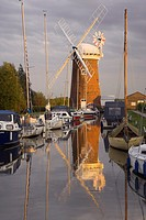 Last rays of Sun in the Evening on Horsey Windpump Norfolk