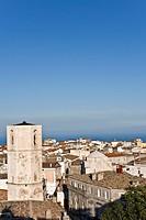 Town of Monte Sant'Angelo, Gargano, Foggia, Apulia, Italy, Europe