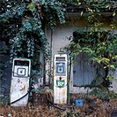 Abandoned Petrol Station, Crete, Greece