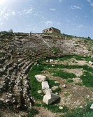 Photograph of the ruins of the Amphitheater of Sepphoris in the Lower Galilee