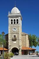 St Mary´s church, Luanco, Asturias, Spain