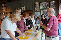 Wine Tasting at Finger Lakes Region New York Winery