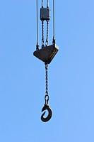 Crane hook of a loading crane