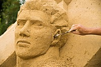 Sandsation, Sand Sculpture Festival in Berlin-Mitte, Germany, Europe