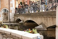 Ponte, People, Annecy, Haute_Savoie, Rhône_Alpes, France