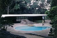 House of the Canoes, Oscar Niemeyer, São Conrado, Rio de Janeiro, Brazil