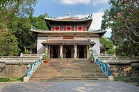 Pagoda in the Botanical Garden of Saigon, Ho Chi Minh City, Vietnam, Southeast Asia