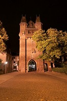 Germany,North Rhine,Westphalia,Kempen, Kuhtor cow gate, city gate