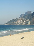 Beach Leblon, Ipanema, Rio de Janeiro, Brazil