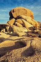 Granite rocks in the Joshua Tree National Park, California, USA