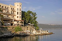 Hotel Miramar at the Adriatic Sea, Opatija, Istria, Croatia