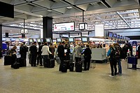 Check_in hall, Zurich Airport, Switzerland, Europe