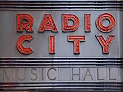 Radio City Music Hall, Manhattan, New York City, USA