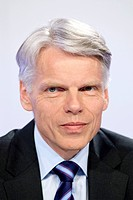 Andreas Barner, chairman of Boehringer Ingelheim GmbH, during the annual press conference on 21.04.2009 in Ingelheim, Rhineland-Palatinate, Germany, E...