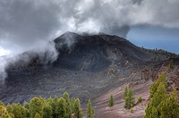 Volcano Duraznero, Ruta de los Volcanes, Volcano Route, La Palma, Canary Islands, Spain, Europe
