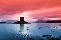 Castle Stalker, near Port Appin, Scotland, UK