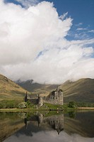 Kilchurn Castle, Loch Awe, Scotland, UK