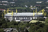 View on the Westfalenstadion, Germany, North Rhine_Westphalia, Ruhr Area, Dortmund
