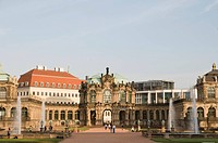 The Zwinger palace, Dresden, Saxony, Germany