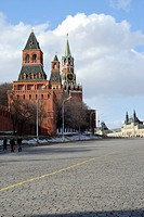 Kremlin Towers, Red Square, Moscow, Russia