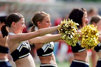 Blue Pearls Cheerleader, Dresden Monarchs, GFL South Division, Germany, Stuttgart