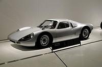 Porsche 904 Carrera GTS, new Porsche Museum, Stuttgart, Baden-Wuerttemberg, Germany, Europe