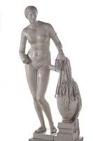 Aphrodite of Cnidus, about 350 BC, ancient Greek sculpture by Praxiteles