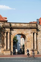 Heger Gate, Osnabrueck, Lower Saxony, Germany, Europe