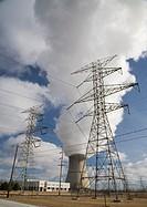 The Davis-Besse Nuclear Power Station, east of Toledo, Oak Harbor, Ohio, USA