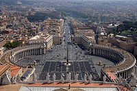 Saint Peter´s Square, Italy, Rome
