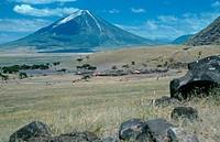 volcano Oldoinyo Lengai, Tanzania, Rift Valley