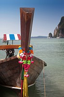 Traditional boat in thailand