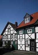 The old village Westerholt, Herten, North Rhine_Westphalia, Germany, Europe
