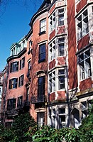 Brownstone Townhouses on Mount Vernon Street