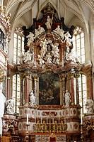 High altar in Graz Cathedral, Graz, Styria, Austria, Europe