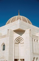 Dome, Mosque Sultan Qabus, Maskat, sultanate Oman, Arabian Peninsula