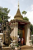 Entrance, Wat Pho, Bangkok, Thailand, Asia