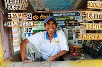 sign maker, semarang, java, indonesia