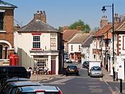 High Street, Epworth, North Lincolnshire, England, UK