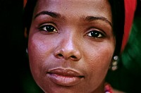 Portrait, Brazilian Indian Woman