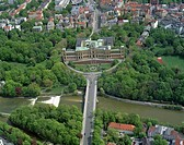 Maximilianeum, Bavarian Parliament, Isar, Maximiliansbruecke, Germany, Bavaria, Muenchen