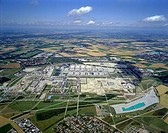 Neue Messe, new fairground on formerly airport Riem, Germany, Bavaria, Muenchen