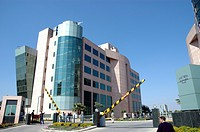 office building at the Unitech Business Park, India, Haryana, Gurgaon