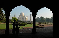 Mausoleum of the Taj Mahal, Agra, Uttar Pradesh, North India, India, Asia