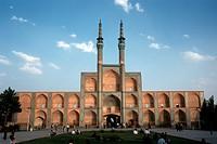 view on the former mosque Tekiyeh Amir Chaqmaq, Iran, Yazd