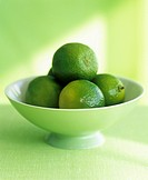 Limes in a bowl