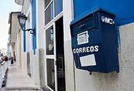 Letter box in Sancti-Spíritus, Sancti-Spíritus province, Cuba, Latin America